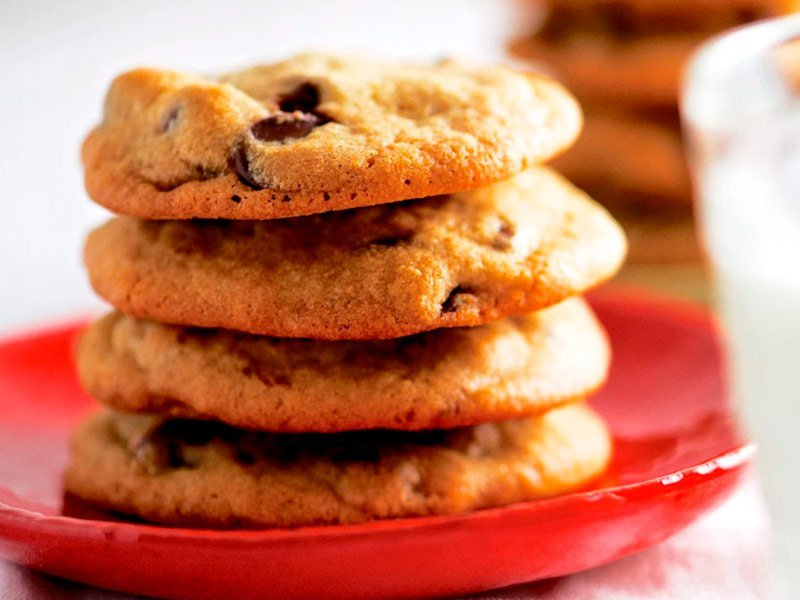 Cookies de chocolate. Receta Princess