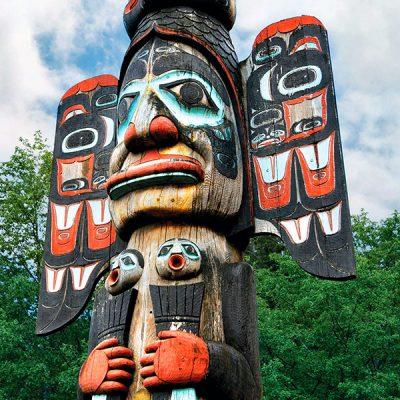 Ketchikan y los tótems de Alaska