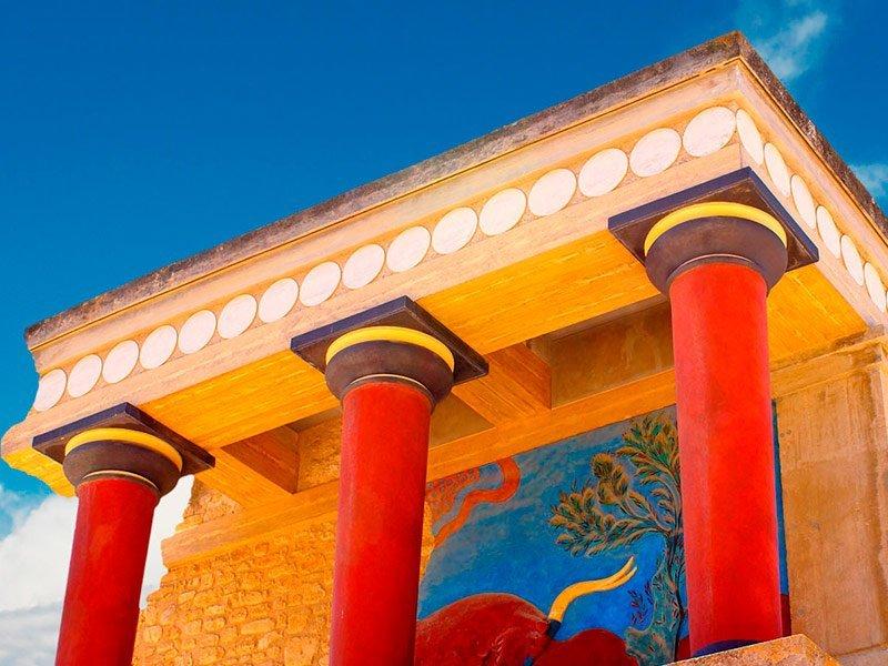 Guía de Knossos, Creta, Grecia
