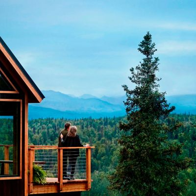 Casa del Árbol en Alaska